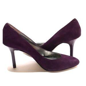 🎉HP🎉 Enzo Angiolini Purple Suede Pumps